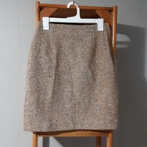 The Limited Wool Skirt